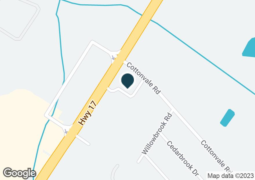 Google Map of5701 OGEECHEE RD