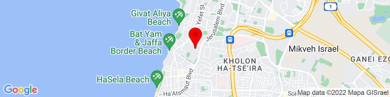 Google Map of 32.03333333333333, 34.75