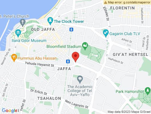 Google Map of דרך בן צבי 5 יפו