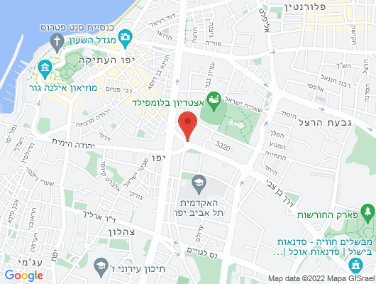 Google Map of דרך בן צבי 5 יפו