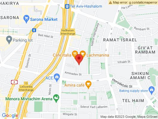 Google Map of מיטב 7 תל אביב