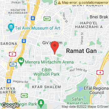 Map of American Eagle Outfitters at Derech Yitshak Rabin 53, Givataim, Tel Aviv 5320001