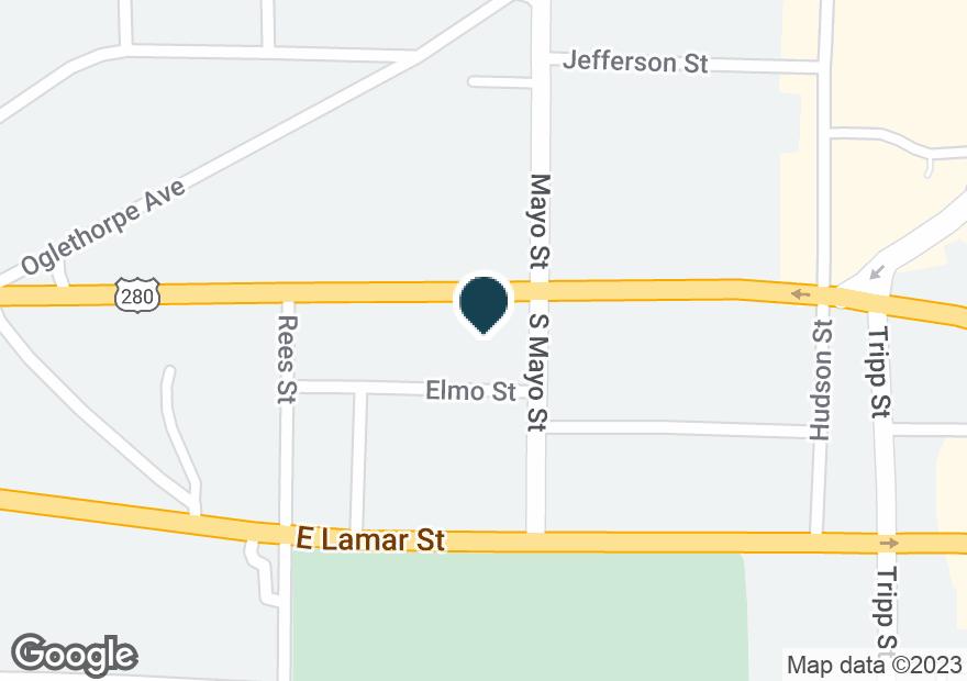 Google Map of733 E FORSYTH ST