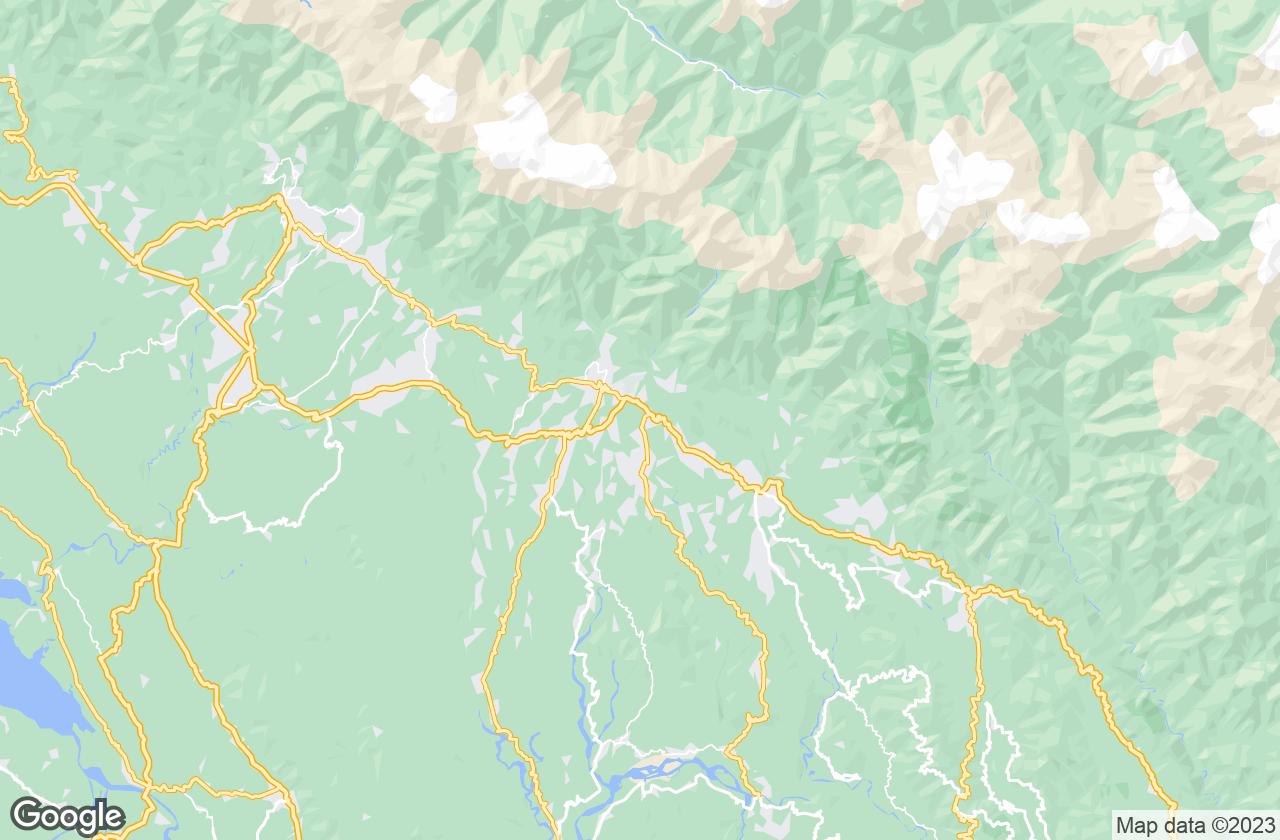 Google Map of Palampur
