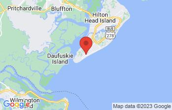 Map of Hilton Head Island