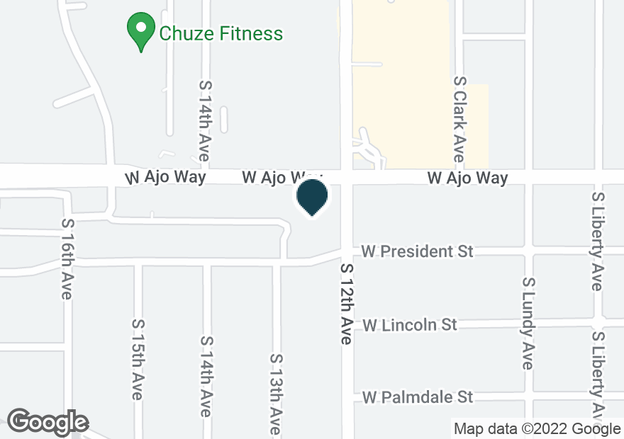 Google Map of605 W AJO WAY