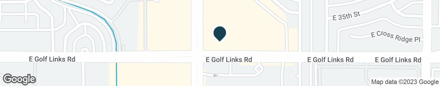 Google Map of7111 E GOLF LINKS RD