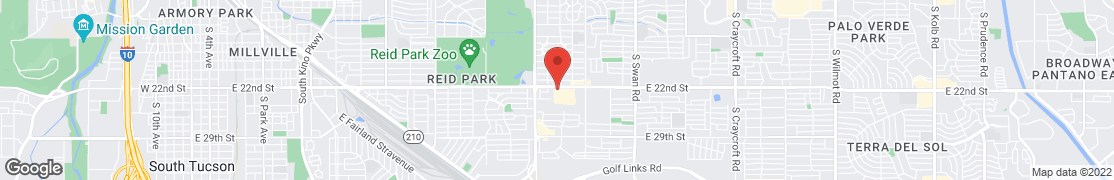 Map of 4040 E. 22nd St. in Tucson