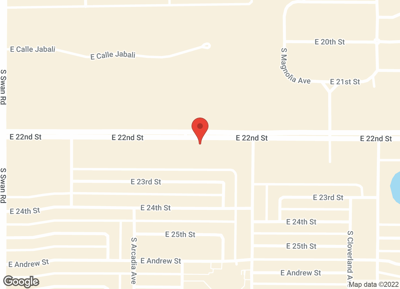 Google Map of VCA Valley Animal Hospital and Emergency Center