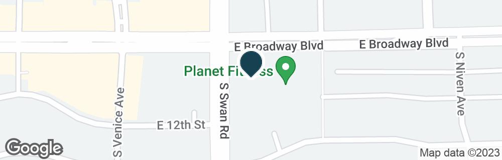 Google Map of4700 E BROADWAY BLVD