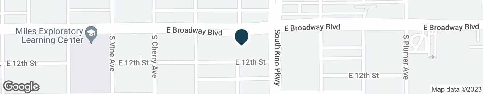 Google Map of1830 E BROADWAY BLVD