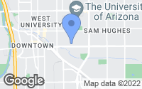 Map of Tucson, AZ