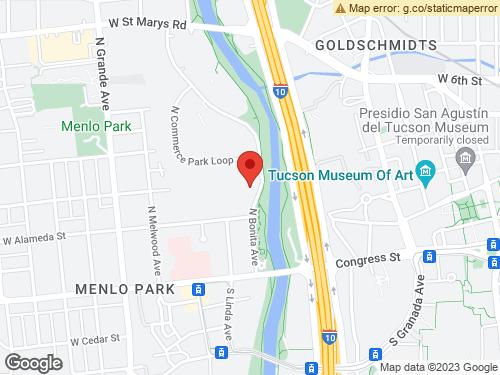View Map of the design studio in Tucson, AZ