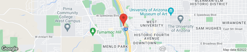 Map of 555 N Freeway in Tucson