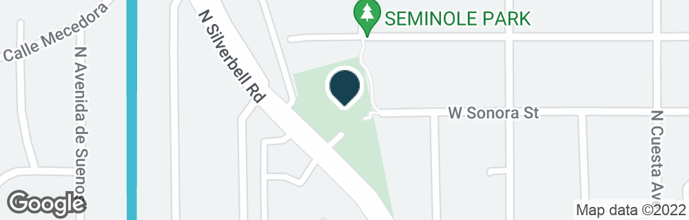 Google Map of550 N SILVERBELL RD