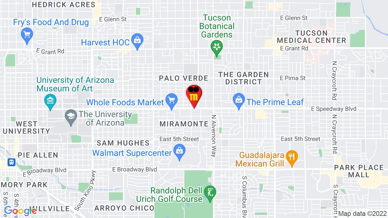 Google Map of Tucson Commercial Pest Control