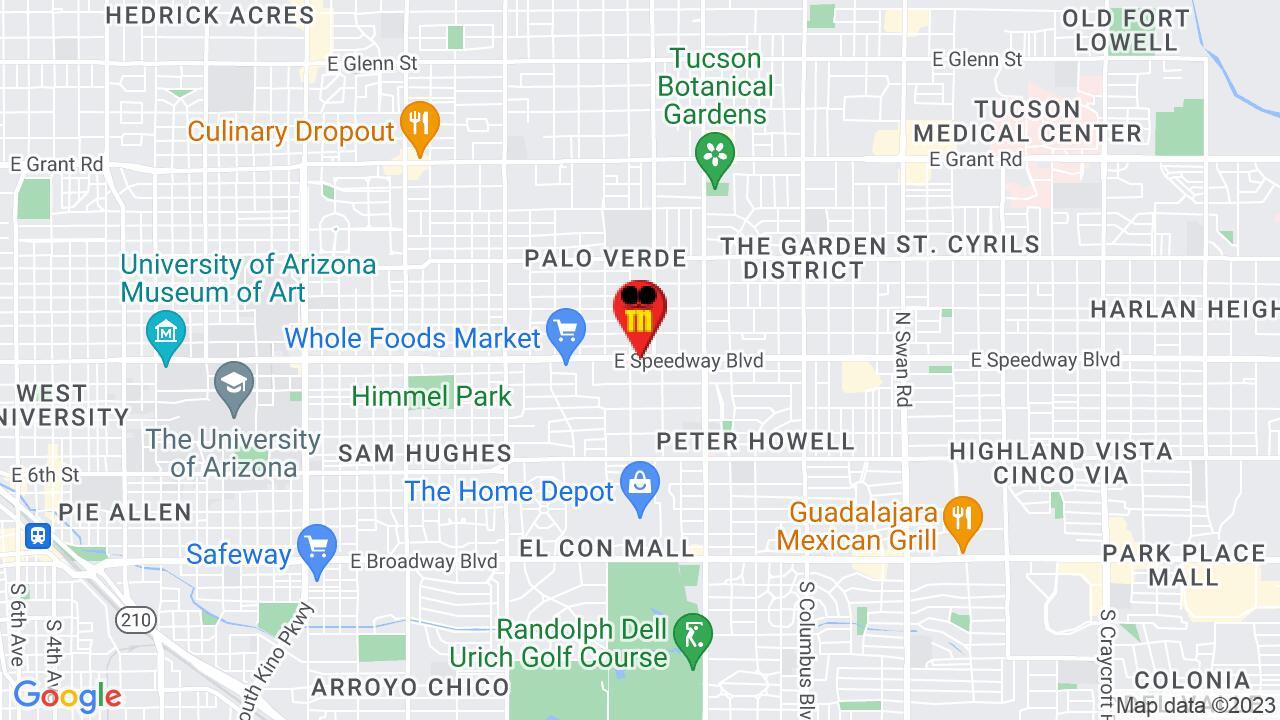 Google Map of Tucson Pest Control