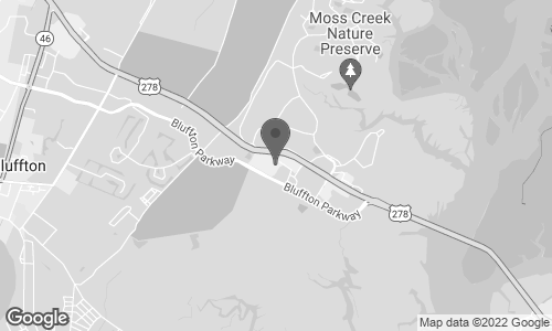 Map of 1414 Fording Island Road in Bluffton