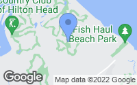 Map of Hilton Head Island, SC