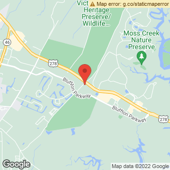 Map of PV Bollin at 3 Malphrus Rd, Bluffton, SC 29910