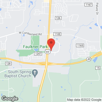 Map of buybuy BABY at 8970 S. Broadway Avenue, Tyler, TX 75703