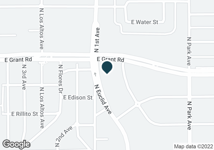 Google Map of730 E GRANT RD