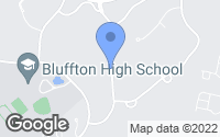 Map of Bluffton, SC
