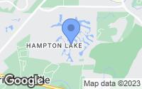Map of Bluffton, SC