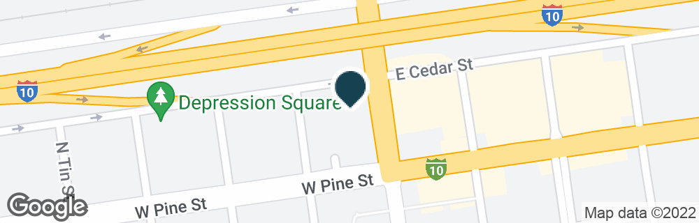 Google Map of122 N GOLD AVE