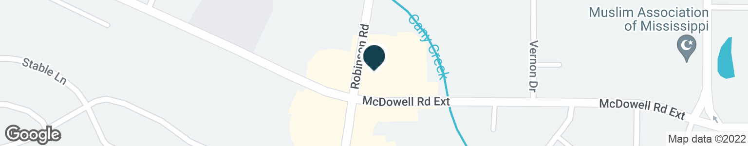 Google Map of2896 MCDOWELL ROAD EXT