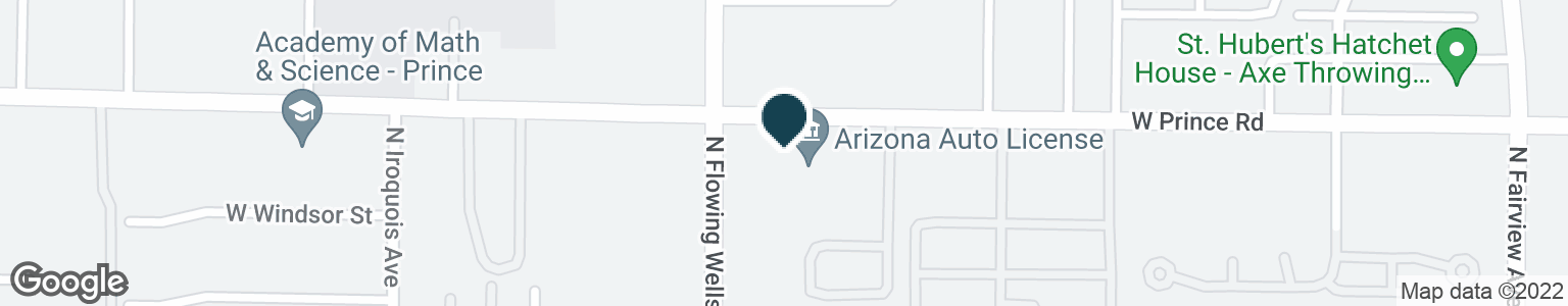 Google Map of1351 W PRINCE RD