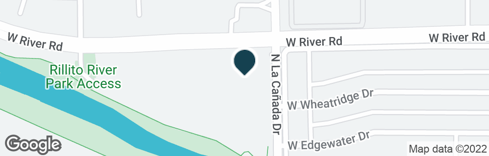 Google Map of1415 W RIVER RD