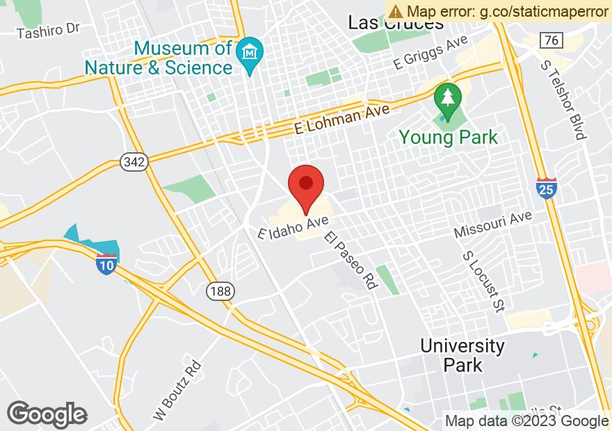 Google Map of 1256 EL PASEO RD
