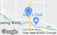 Map of Tucson, AZ