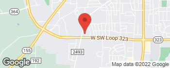 Map of 1717 Wsw 323 Loop in Tyler