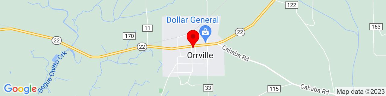Google Map of 32.3062505, -87.2455492