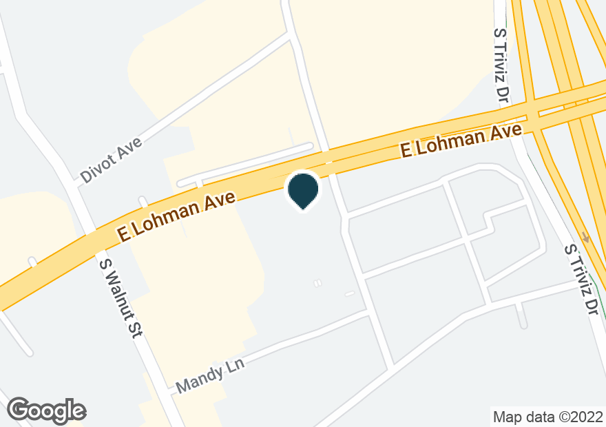 Google Map of2300 E LOHMAN AVE