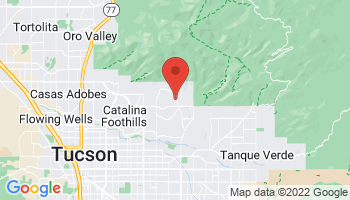 Map of Tucson