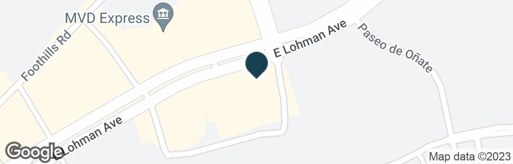 Google Map of3990 E LOHMAN AVE