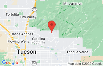 Map of Tucson