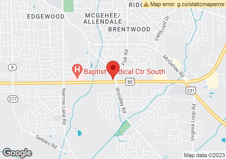 Google Map of 2281 E SOUTH BLVD