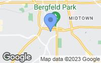 Map of Tyler, TX