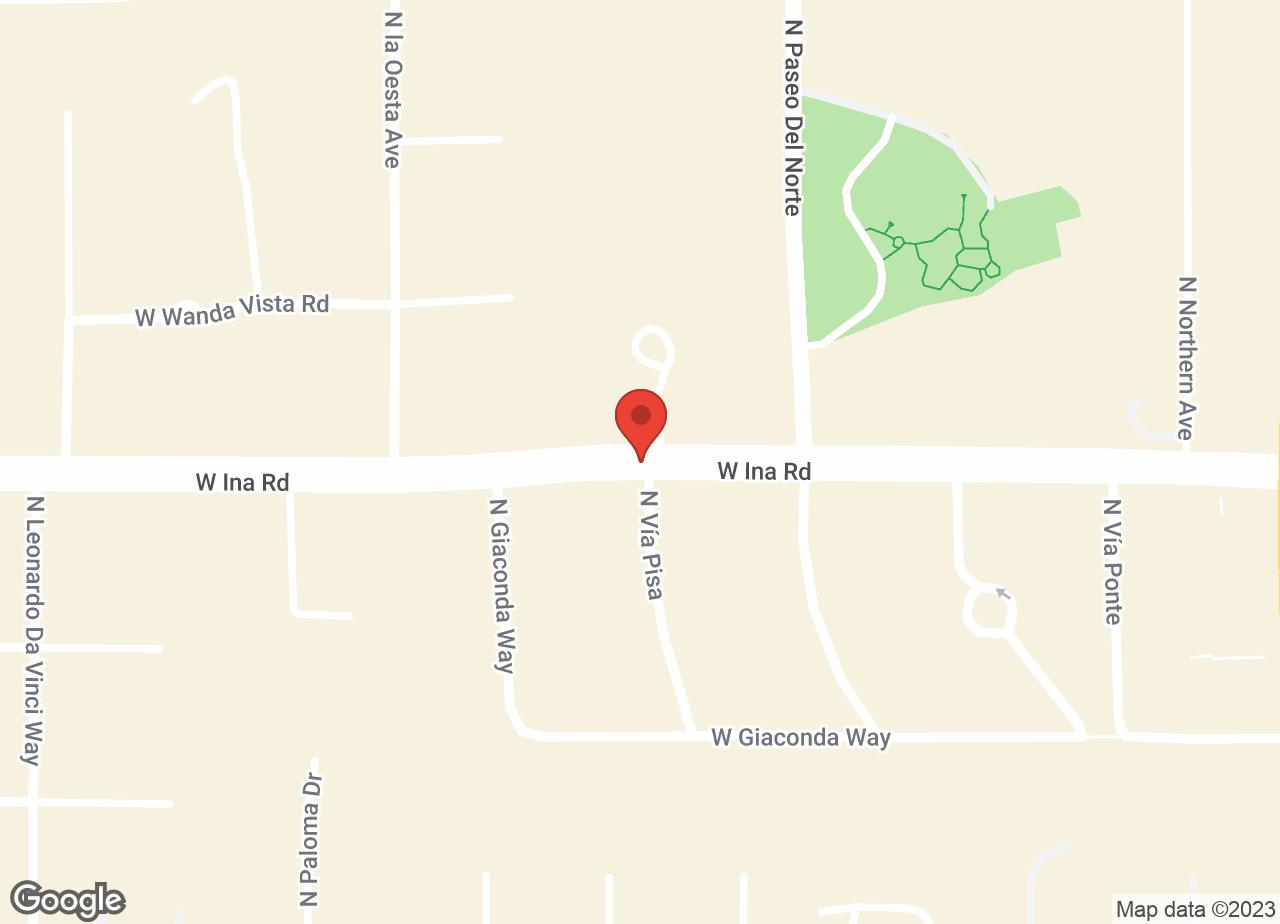 Google Map of VCA Northwest Animal Hospital - Ina Road