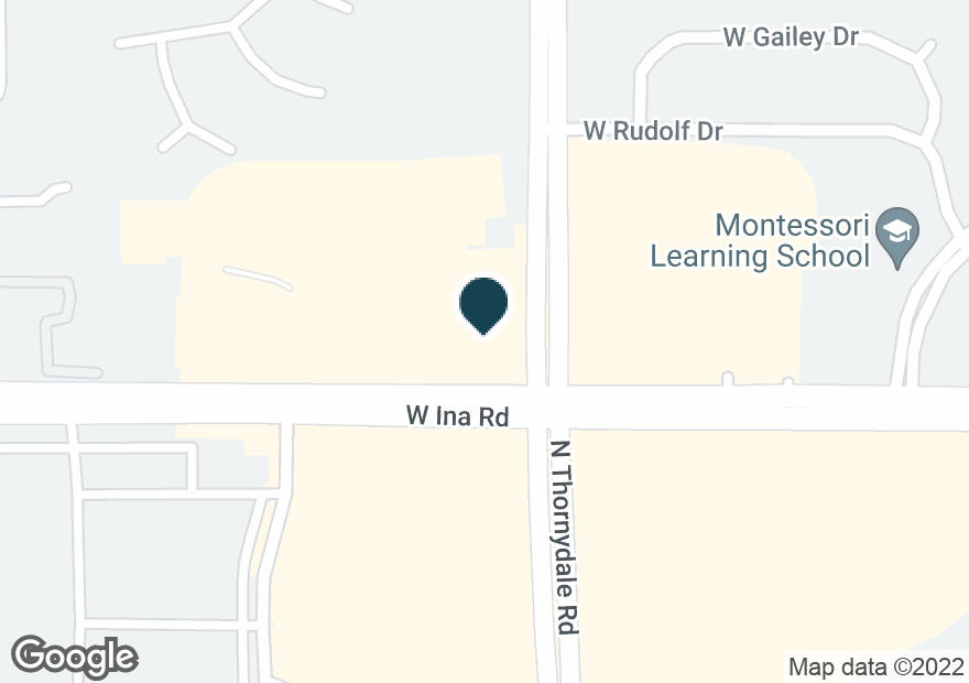 Google Map of3800 W INA RD