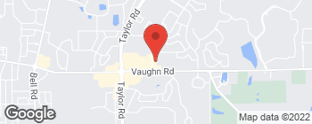 Map of 8119 Vaughn Rd in Montgomery