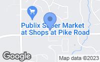Map of Pike Road, AL