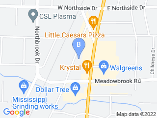 Map of Northside Pet Clinic Dog Boarding options in Jackson | Boarding