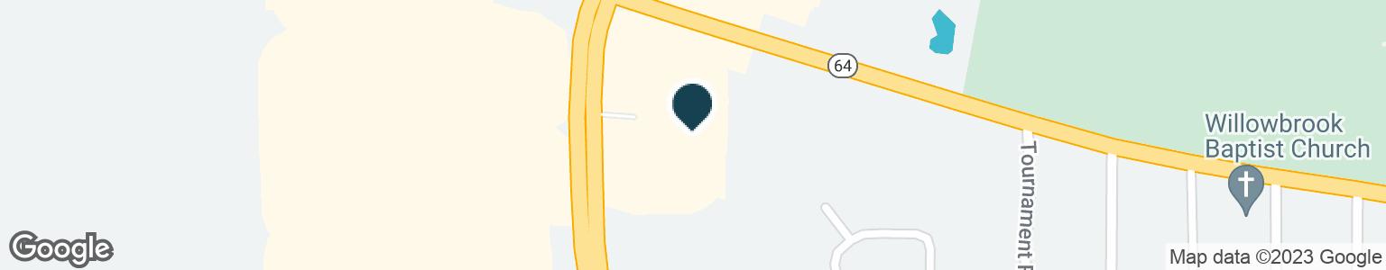 Google Map of110 S SOUTHWEST LOOP 323
