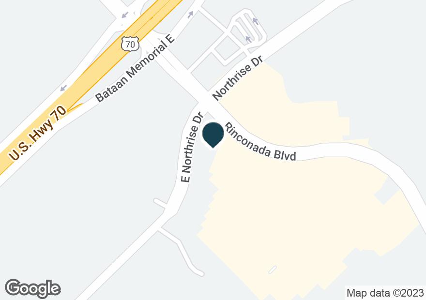 Google Map of3375 RINCONADA BLVD