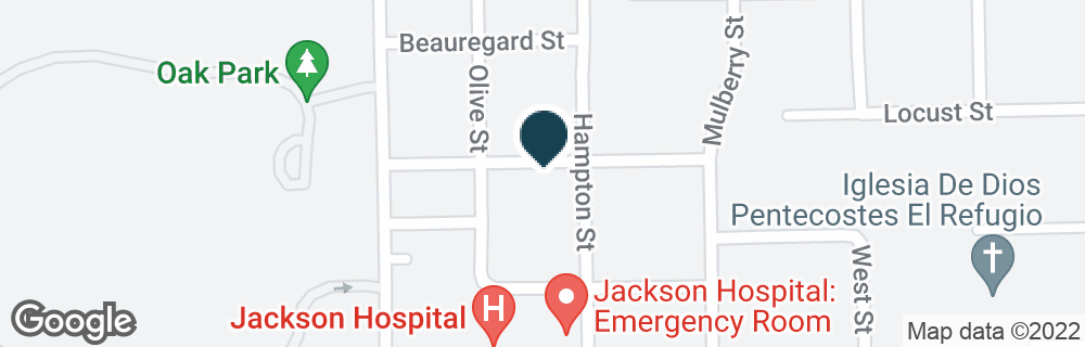 Google Map of1758 PARK PL